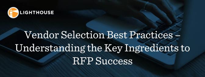 Banner_Vendor Selection Best Practices