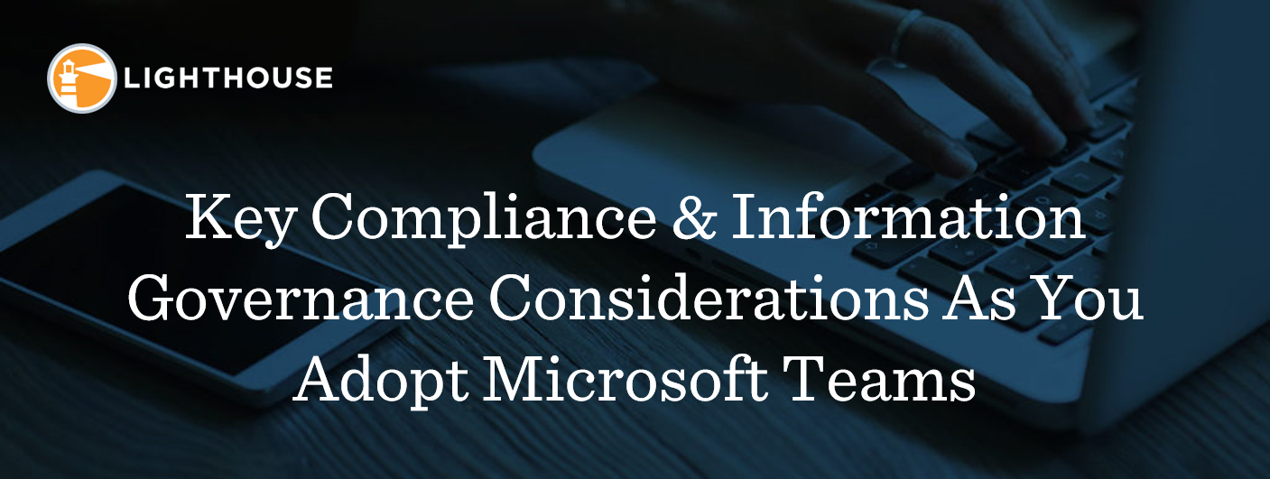 Updated Banner - Key Compliance & Info Gov Considerations